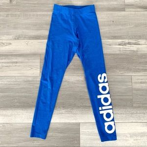 Adidas Royal Blue Leggings